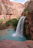 райские водопады — Стоковое фото