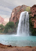 Havasu Waterfall — Stock Photo