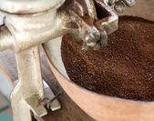 Freshly Ground Coffee — Stock Photo