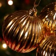 Gold Xmas Ball — Stock Photo #4081693