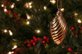 Gold Spiral Ornament — Stock Photo