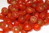 Chopped Cherry Tomatoes — Stock Photo