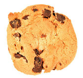 Isolated Chocolate Chip Cookie — Stock Photo