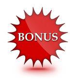 Bonus web sign — Stock Photo