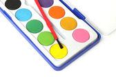 Caja paleta de color — Foto de Stock