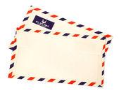 Due buste posta aerea — Foto Stock