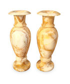 Two marble vases — Stock Photo
