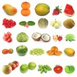 Stock Photo: Fruit collection