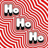 Groovy Ho Ho Ho — Stock Vector