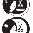 Stock Photo: Hairdressing LOGO