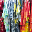Colorful Tyedye Shirts — Stock Photo