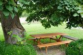 Table de jardin — Photo