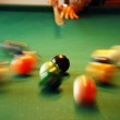 Billiards playing — Stock Photo #5095783