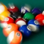 Billiards balls — Stock Photo #5111915