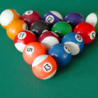 Billiards balls — Stock Photo