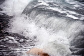 Storm wave — Stock Photo