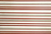Red, gray and white horizontally striped texture — Stock Photo