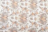 Blume stoff textur — Stockfoto