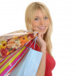 Young woman with shopping bags — Stock Photo #4449166