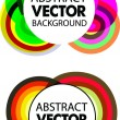 Abstract colourful vector background — Stock Vector