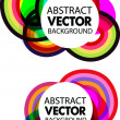 Abstract colourful vector background — Stock Vector #4134211