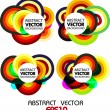 Abstract colourful vector background — Stock Vector #4134222