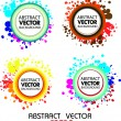 Stock Vector: Abstract colourful vector background