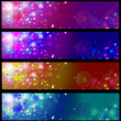 Royalty-Free Stock Photo: Vector colorful banners