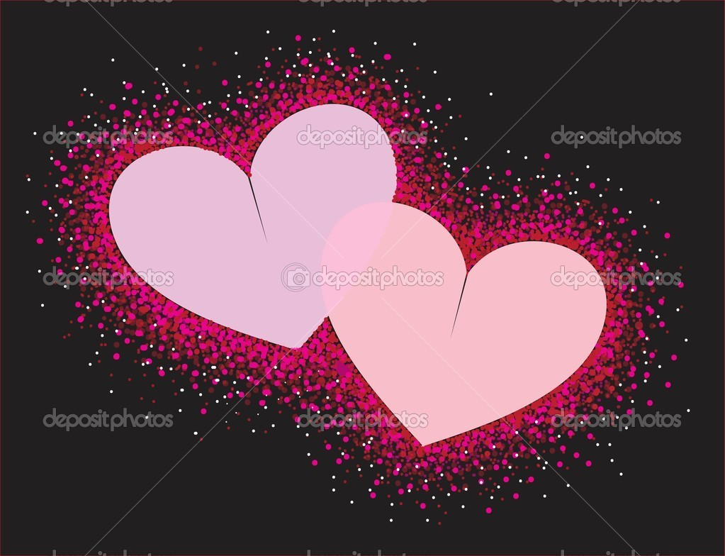 Abstract hearts. Vector illustration eps 10 — Stock Vector #4826362