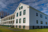 Fort Worden Barracks HDR — Stock Photo