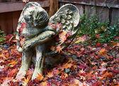 ангел осени — Стоковое фото