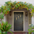 Wisteriarch door — Stock Photo #4421597