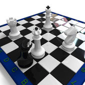 Chess checkmate — Stock Photo