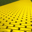 Gold road — Stock Photo #5130929
