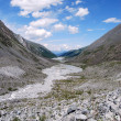 Stock Photo: Dried river