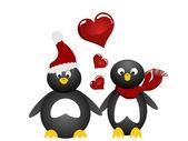 Lovely penguin — Stock Vector