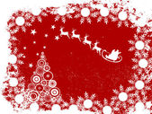 Elegant christmas card — Stock Vector