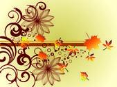 Autumn natural — Stock Vector