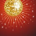 ������, ������: Golden mirror ball