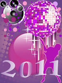 New years eve 2011 — Stock Vector