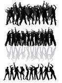 跳舞 — 图库矢量图片