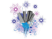 New years eve - 2011 — Stock Vector