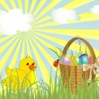 Stock Vector: Easter design