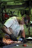 Zpracování kovů — Stock fotografie