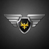 Shield. Vector. — Stock Vector