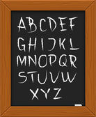 "Letter ""A"" on a white background. Vector illustration. — Stock vektor"