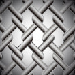 Chainlink fence isolated against on metal. Vector — Stock Vector