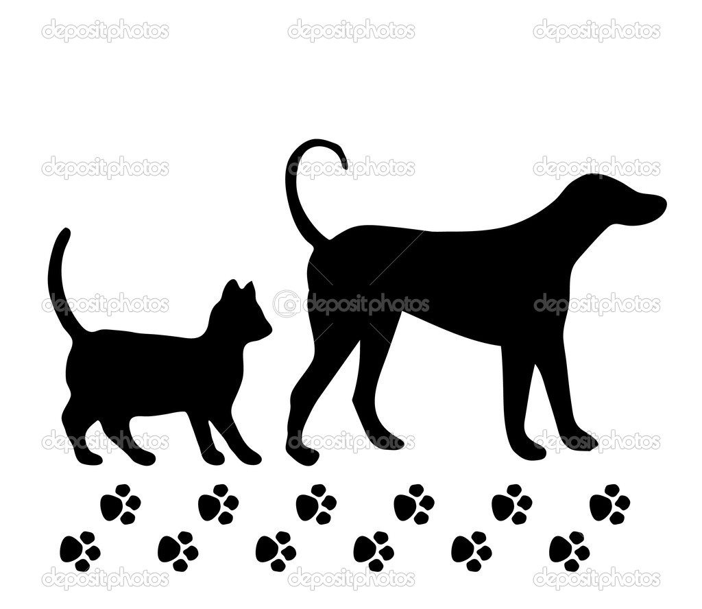 Free Clipart Dog And Cat Together - Clipart 2017