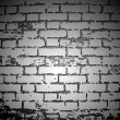 Black And White Brick Wall. Vector - Stock Vector