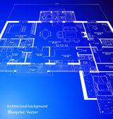 Blueprint. Vector — Stock Vector